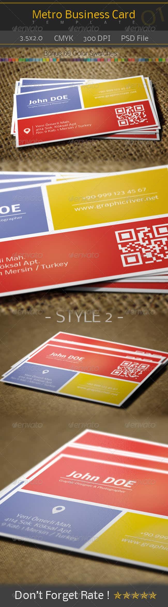Metro Business Card - 01