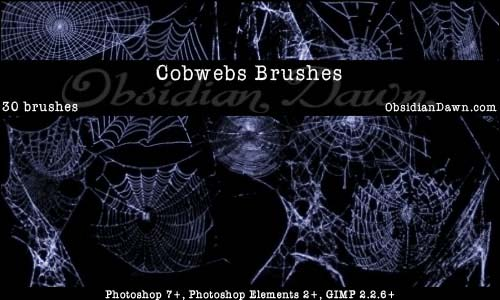 Cobwebs_Photoshop_Brushes_by_redheadstock
