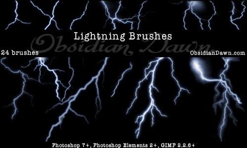 Lightning_Photoshop_Brushes_by_redheadstock