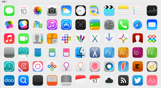 iOS 7 Icons (Updated)
