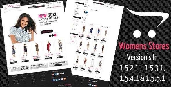 women stores opencart