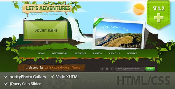Let's Adventures HTML