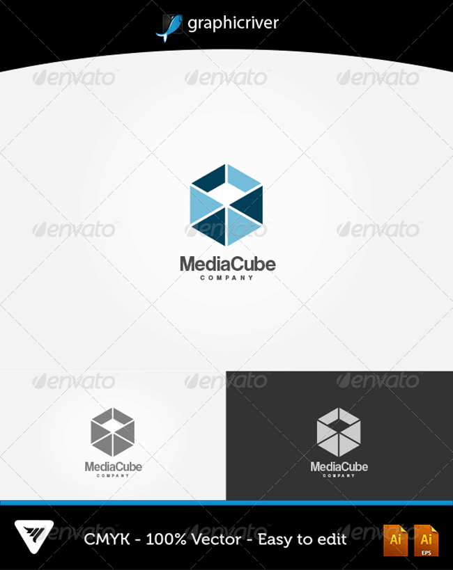 Media Cube Logo