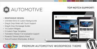 WP Pro automotive wordpress theme