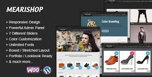 Mearishop wordpress theme