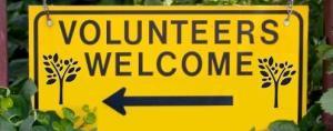 Volunteers Welcome - leket tree