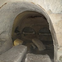 Burial in the walls