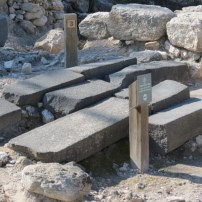Basalt road stones