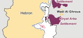 Hebron redeployment 1997 - Graphics: Wickey-nl