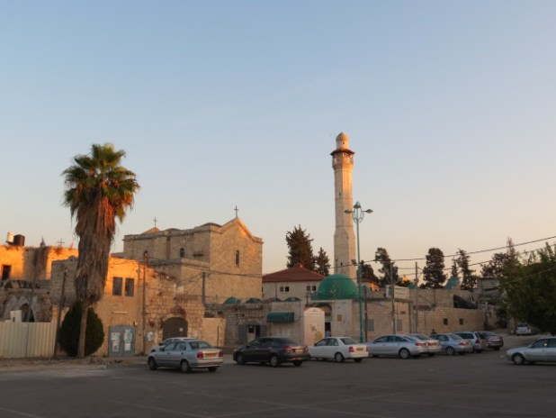 St. George : The current church, built in 1870, shares space with the El-Khidr Mosque