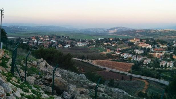Panorama from Mitzpe Dado