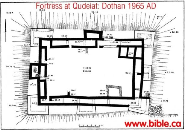 Ein el Qudeirat Fortress - http://www.bible.ca/archeology/bible-archeology-exodus-kadesh-barnea-fortresses-ein-el-qudeirat.htm