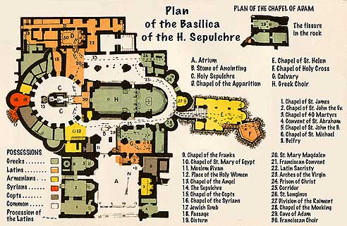 All You Want To Know About The Church Of The Holy Sepulchre