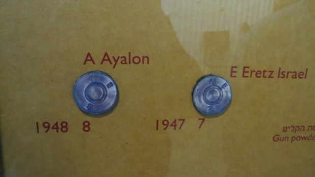 Ayalon Institute - Underground munitions factory - Bullet rim markings