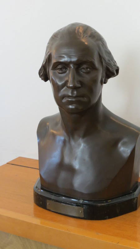 Bust of the First President of the USA George Washington