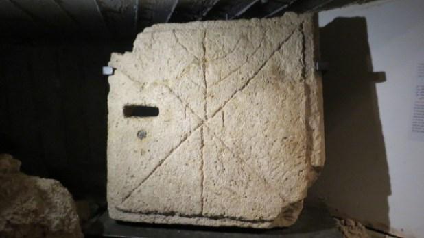 Jaffa Visitors Center - Burial Cave Door