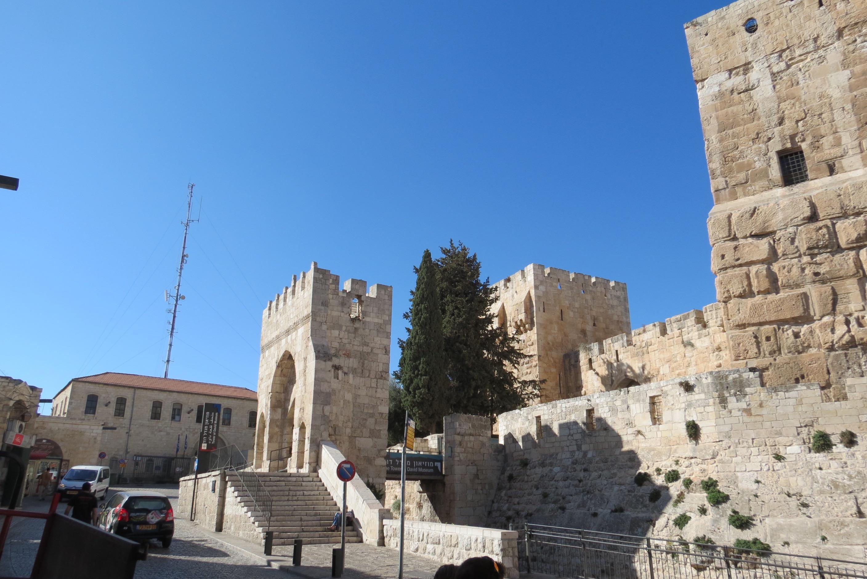 David's Citadel entrance