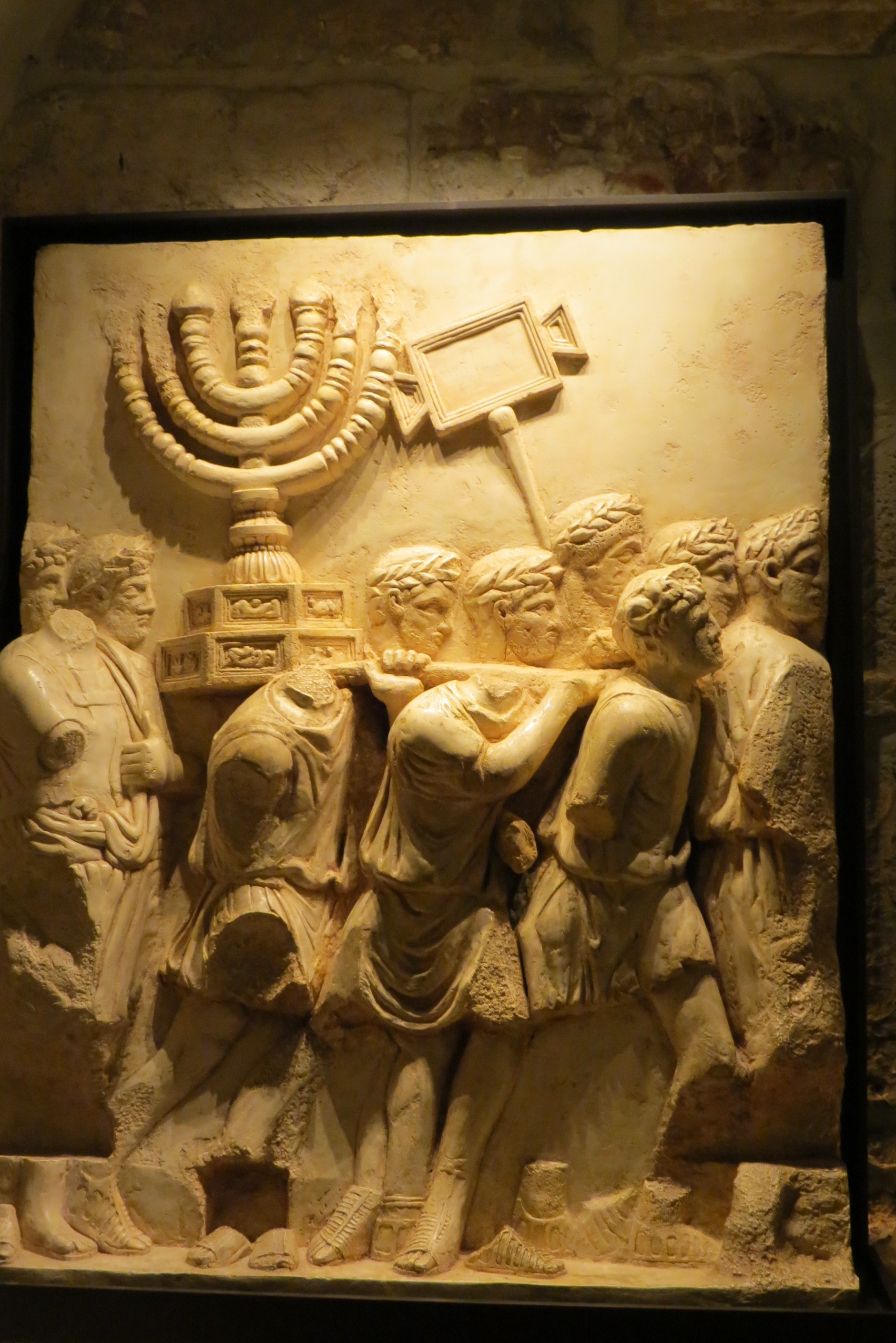 The Menorah - Destruction of the Temple