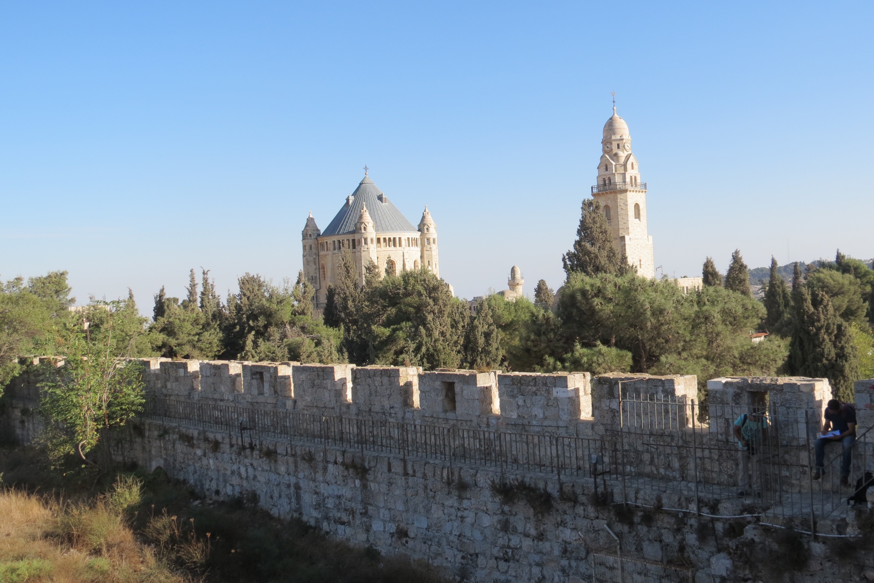 Ramparts Walk - Dormition on Mount Zion