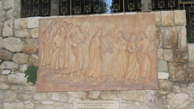 "Church of Saint Peter in Gallicantu -  ""After the Supper, Jesus left with his disciples and crossed the Kidron valley"""