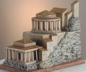 Masada fortress reconstruction - http://www.bible-architecture.info/Masada.htm