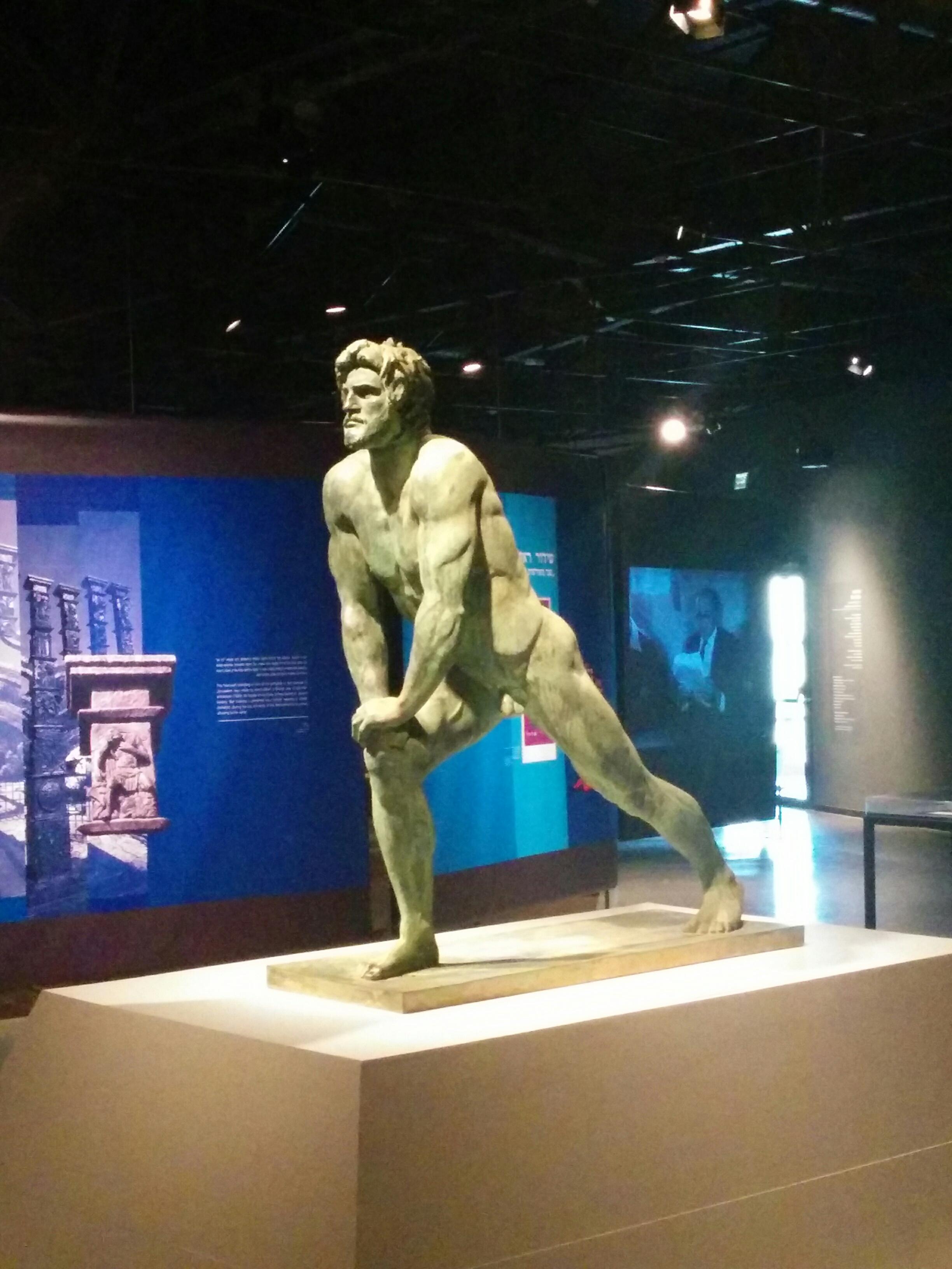 Bar Kokhba statue - Shimon Bar Kokhba - Eretz Israel Museum