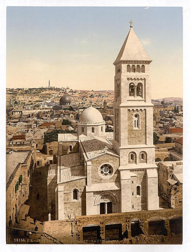 The Church of the Redeemer around 1900 - Land Purchases in the Holy Land