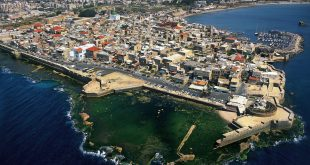 Aerial view of Acre Photo: israeltourism