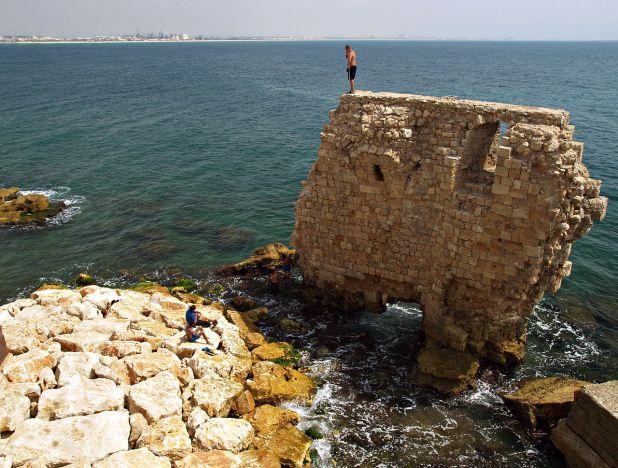 Pisan Harbor, Acre Photo: Israel by Dainis Matisons - Akko Harbor