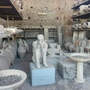 Plaster Casts of Pompeii