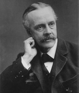 Balfour photo by George Grantham Bain