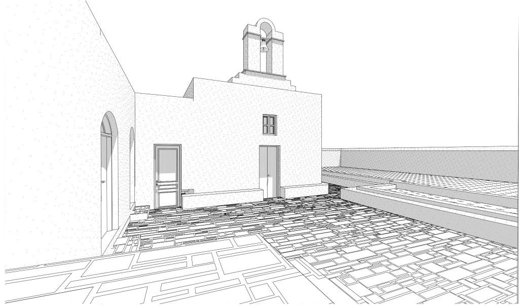 Monastery 3D view 5