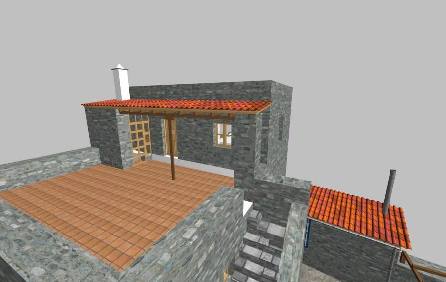 Second floor veranda