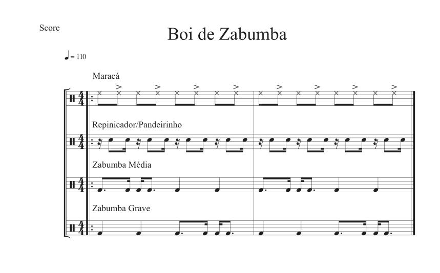 Boi de Zabumba Grade