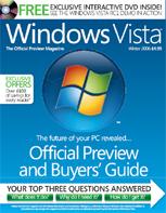Official Windows Vista magazine cover