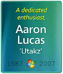 Remembering Aaron Lucas 'Utakz'