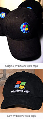 New Windows Vista cap