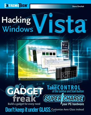 Hacking Windows Vista by Steve Sinchak