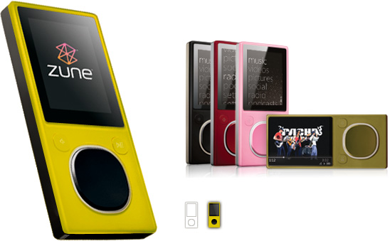 Zune Citron color
