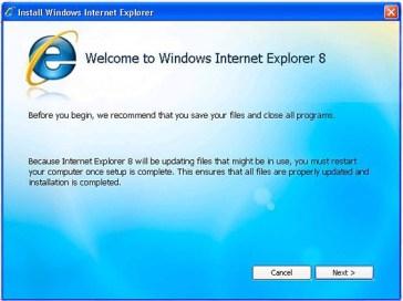 ie8 install Internet Explorer 8 8.0.6001.18702 Final Download Last Update
