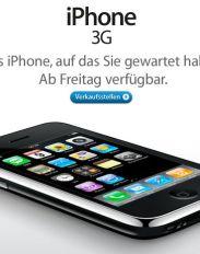 Ist gestern nicht schon heute? Apple-Newsletter zum iPhone 3G