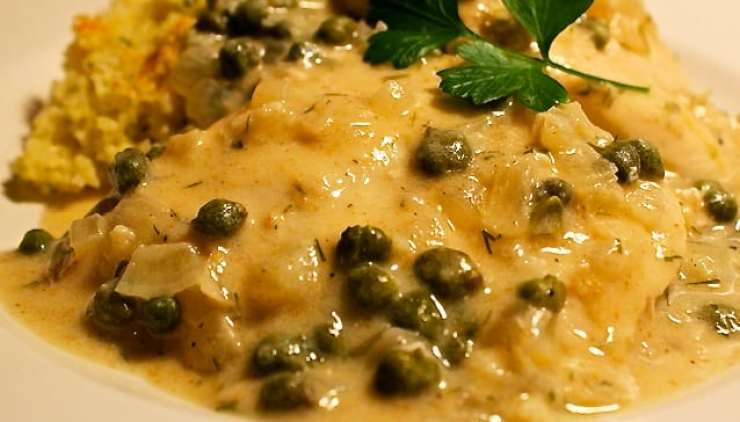 chicken in lemon and caper sauce