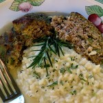 Creamy Risotto with Lemon, Asiago and Rosemary