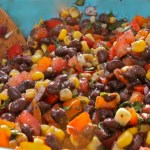 Carolina Caviar / Black Bean Salsa: Al Fresco Evening in Tennessee Mountains