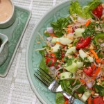 A Fresh Thai Salad and Two Thai Dressings