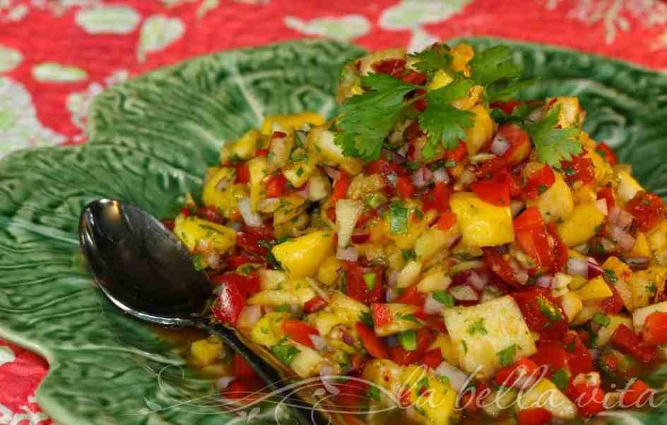 Superb Mango Pineapple Salsa