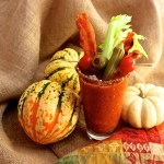 Spicy Hot Bloody Mary Smoothie