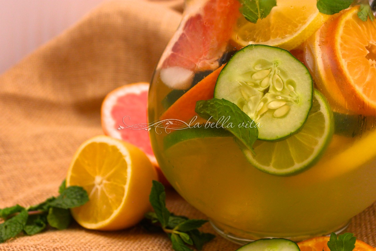 Citrus DeTox Spa Water