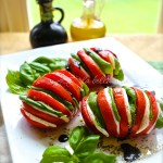 Caprese Salad with a Fresh New Presentation