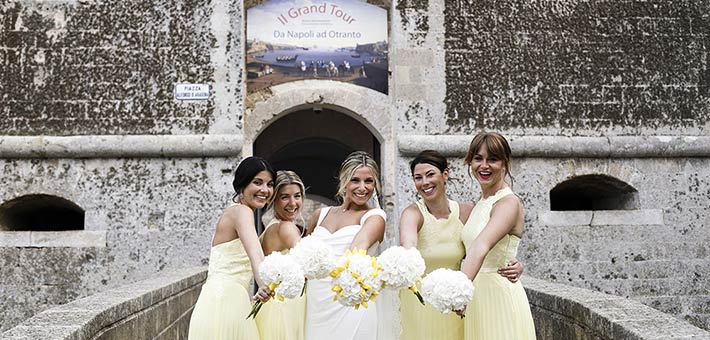 A Yellow Themed Wedding in Apulia Countryside - Salento